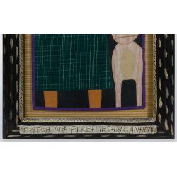 "View 4: Chris Roberts-Antieau (American, b.1950) ""Catching Fireflies"" Tapestry"