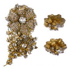 View 5: Rhinestone and Costume Jewelry Assortment