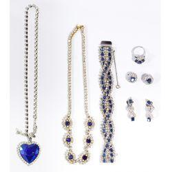 View 4: Rhinestone and Costume Jewelry Assortment