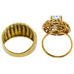 View 2: 18k Gold Rings