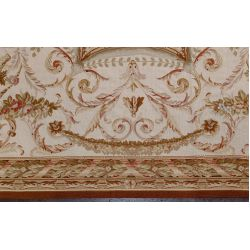 View 3: Aubusson Wool Needlepoint Rug