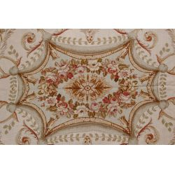 View 4: Aubusson Wool Needlepoint Rug