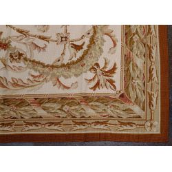 View 5: Aubusson Wool Needlepoint Rug