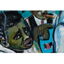 "View 2: Wayne Manns (American, 20th Century) ""Cheatin"