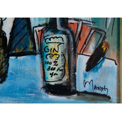 "View 3: Wayne Manns (American, 20th Century) ""Cheatin"