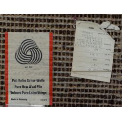 View 2: West German Shag Wool Area Rug