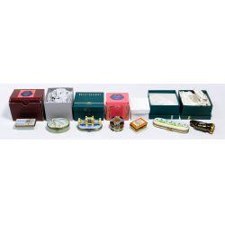View 2: Limoges Trinket Box Assortment