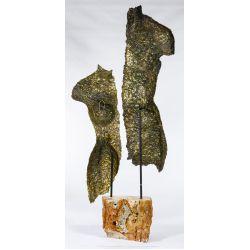 View 3: Rock Richardson (American, 20th Century) Bronze Figure