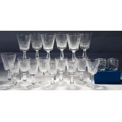 View 2: Waterford, St. Louis and Daum Crystal Assortment