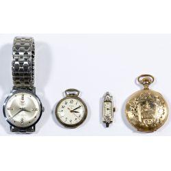 View 5: Pocket and Wrist Watch Assortment