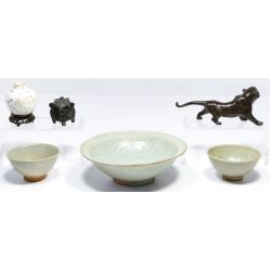 View 2: Asian Pottery Assortment