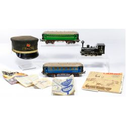"""View 4: Lionel Model """"O"""" Gauge Train and Accessory Assortment"""