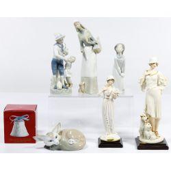 View 3: Lladro and Armani Figurine Assortment