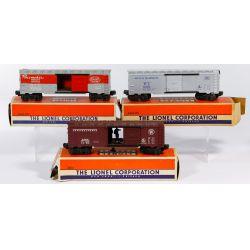 "View 3: Lionel Model ""O"" Gauge Train Assortment"