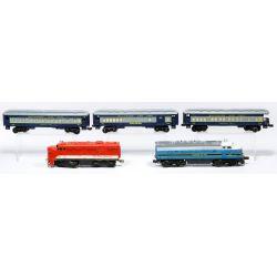 "View 5: Lionel Model ""O"" Gauge Train Assortment"