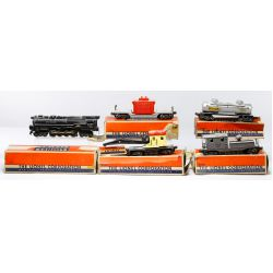 "View 3: Lionel Model ""O"" Gauge Train Assortment"
