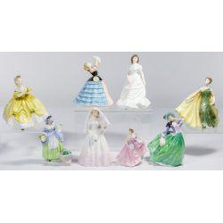 View 2: Royal Doulton Figurine Assortment