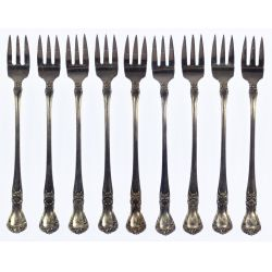 "View 3: Gorham ""Buckingham"" Sterling Silver Flatware Service"