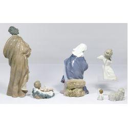 View 2: Lladro Nativity Figurine Assortment