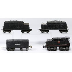 "View 7: Lionel Model ""O"" Gauge Train Assortment"