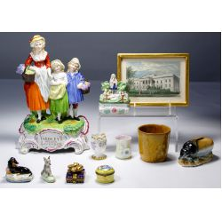 View 3: Steuben Glass and Miscellaneous Assortment