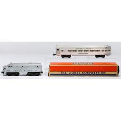 "View 4: Lionel Model ""O"" Gauge Train Assortment"