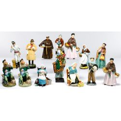 View 3: Royal Doulton Figurine Assortment