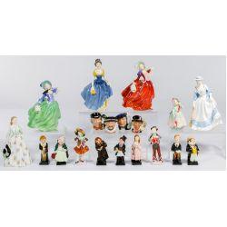 View 4: Royal Doulton Figurine Assortment