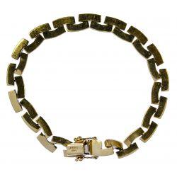 View 2: 14k Gold Link Bracelet
