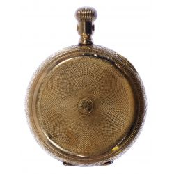 View 3: American Waltham 14k Gold Hunt Case Pocket Watch