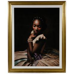 "View 4: Fabiola Jean-Louis (Haitian / American, b.1978) ""Rewriting History"" Series Pigment Prints"