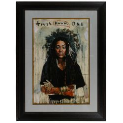 "View 3: Tim Okamura (Canadian, b.1968) ""Trust Your Dopeness"" Giclee Reproduction Print"