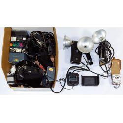 View 2: Camera, Lens and Camera Equipment Assortment