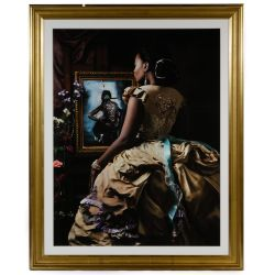 "View 3: Fabiola Jean-Louis (Haitian / American, b.1978) ""Rewriting History"" Series Pigment Prints"