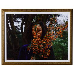 """View 2: Zohra Opoku (German / Ghanaian, b.1976) """"Pyracantha"""" Pigment Print"""