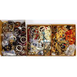 View 7: Rhinestone and Costume Jewelry Assortment