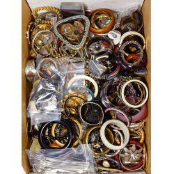 View 8: Rhinestone and Costume Jewelry Assortment