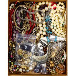 View 9: Rhinestone and Costume Jewelry Assortment