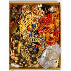 View 10: Rhinestone and Costume Jewelry Assortment