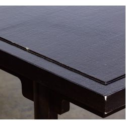 View 3: Paul M. Jones Black Lacquered Coffee Table