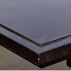View 2: Paul M. Jones Black Lacquered Coffee Table