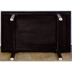 View 6: Paul M. Jones Black Lacquered Coffee Table
