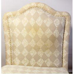 View 2: Baker Upholstered Slipper Chairs