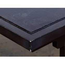 View 4: Paul M. Jones Black Lacquered Coffee Table