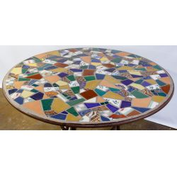 View 2: Mosaic Patio Bistro Table