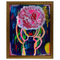 "View 4: Alisa Rawls (American, b.1988) ""Bailadora II"" Acrylics on Canvas"