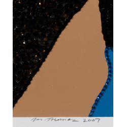 "View 5: Mickalene Thomas (American, b.1971) ""When Ends Meet"" Serigraphs"