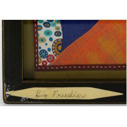 "View 3: Chris Roberts-Antieau (American, b.1950) ""Big Freedia"" Tapestry"