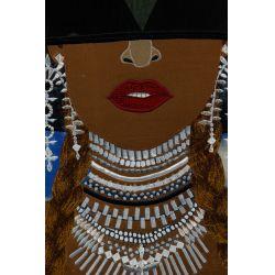 """View 2: Chris Roberts-Antieau (American, b.1950) """"Beyonce"""" Tapestry"""