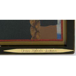 """View 3: Chris Roberts-Antieau (American, b.1950) """"Beyonce"""" Tapestry"""
